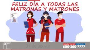 DÍA DE LAS MATRONAS